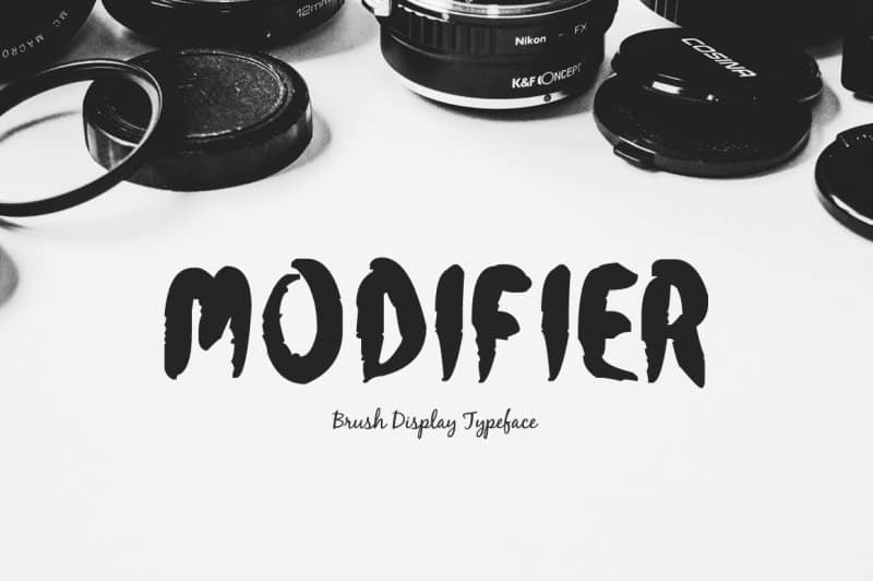 Download Modifier font (typeface)