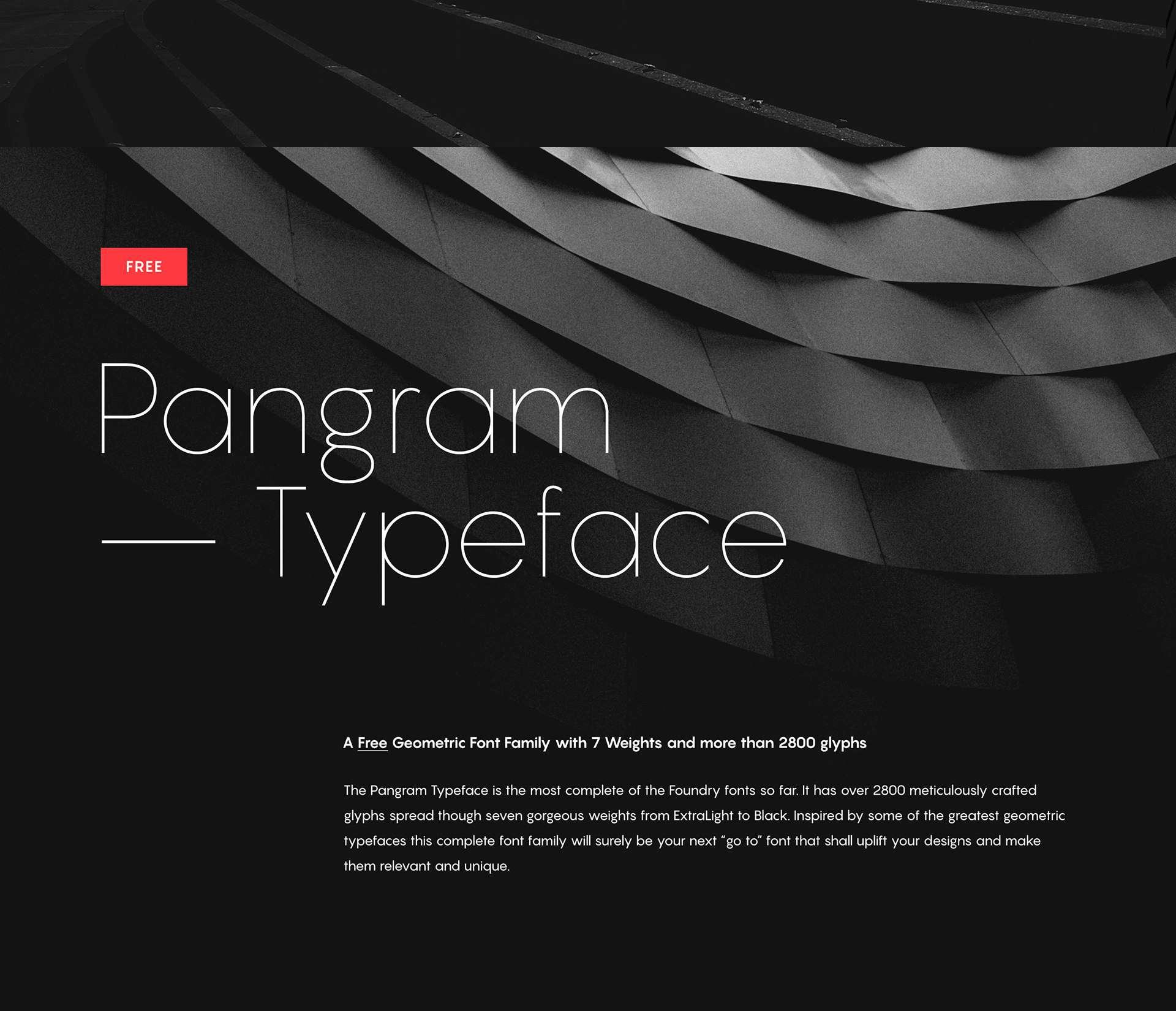Download Pangram font (typeface)