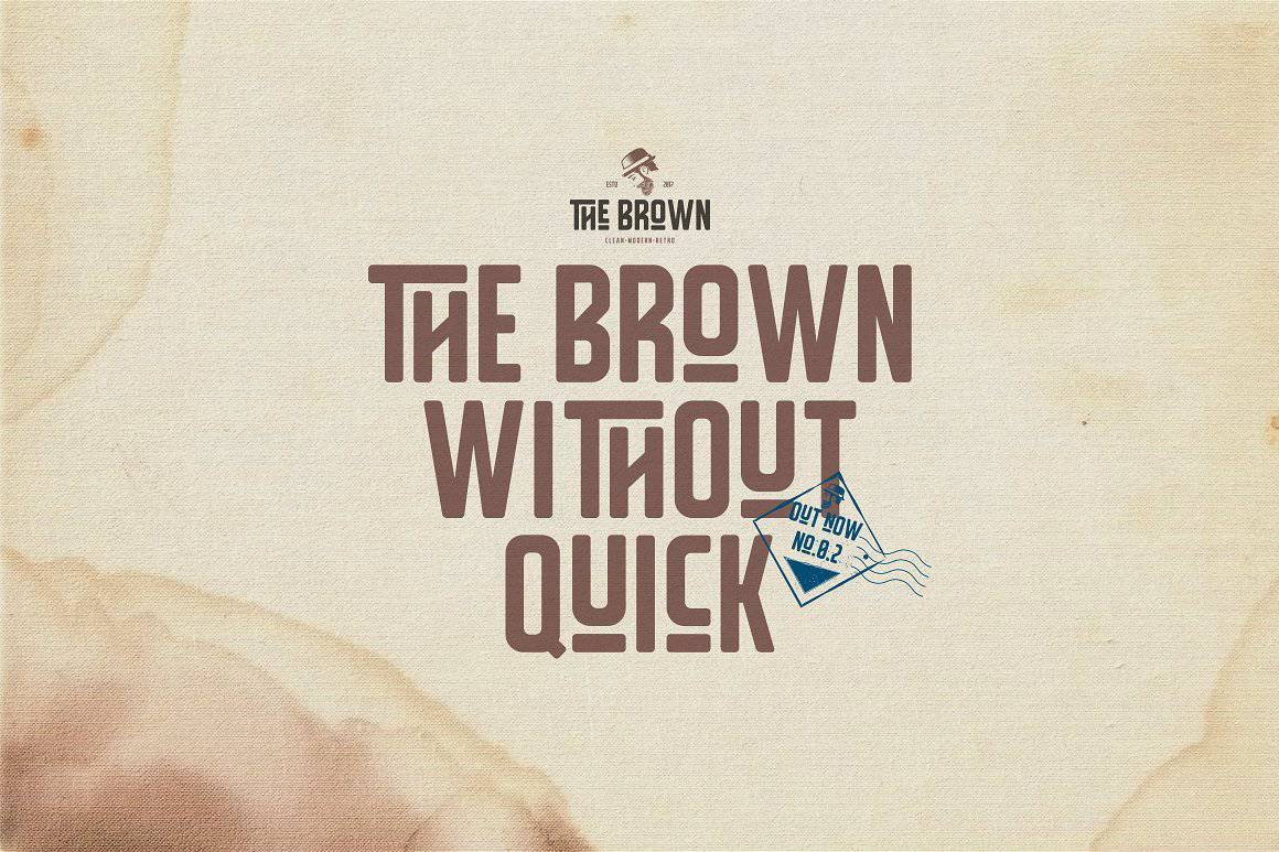 Download The Brown font (typeface)