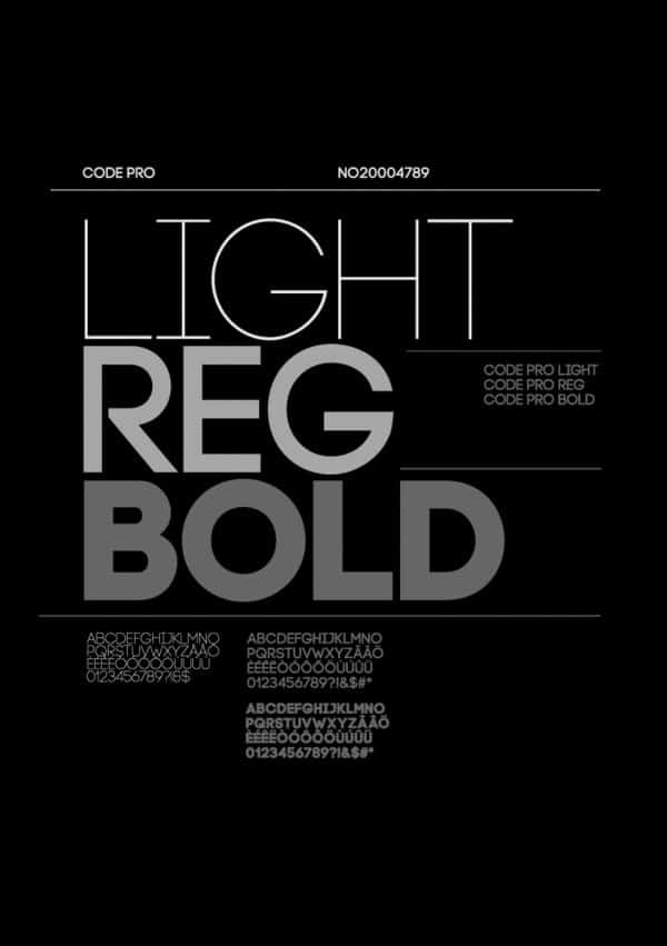 Download Code Pro font (typeface)