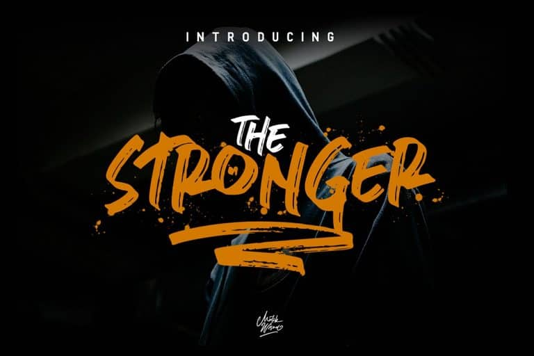 Download Stronger font (typeface)