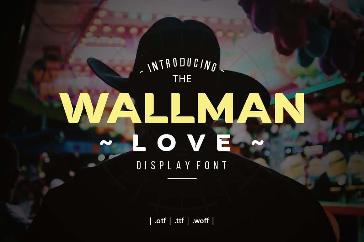 Download Wallman Love font (typeface)