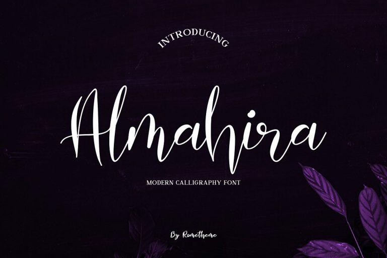 Download Almahira font (typeface)
