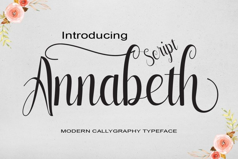 Download Annabeth font (typeface)