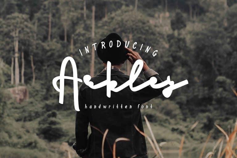 Download Arkley font (typeface)