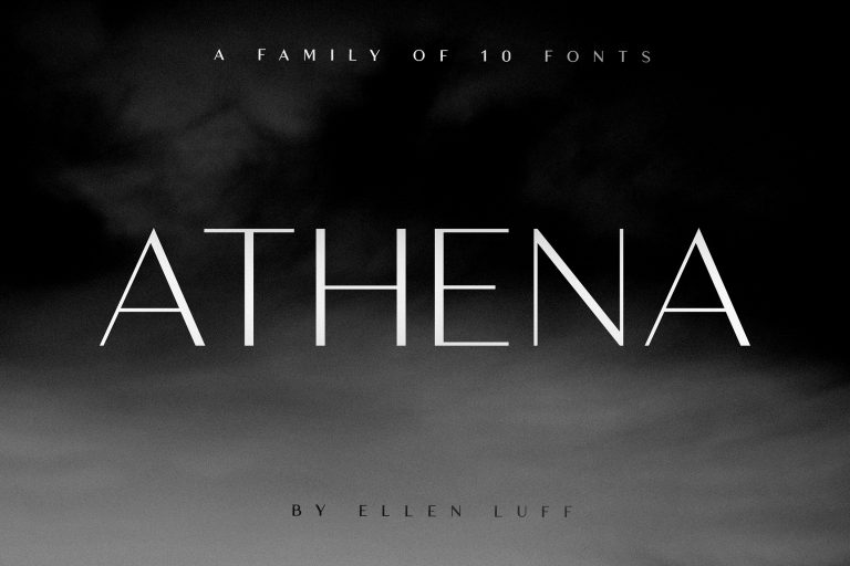 Download Athena font (typeface)