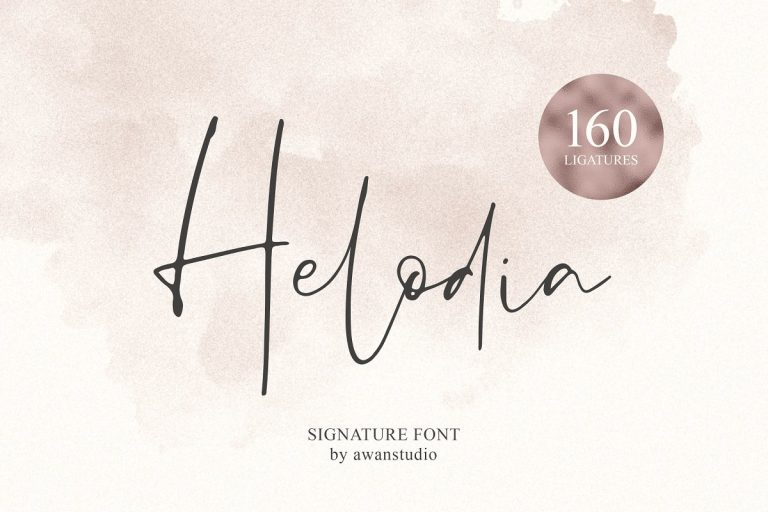 Download Helodia font (typeface)