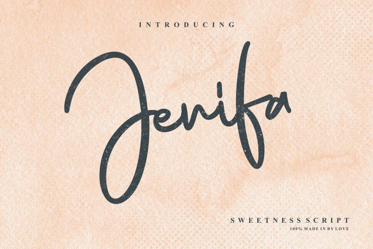 Download Jenifa font (typeface)