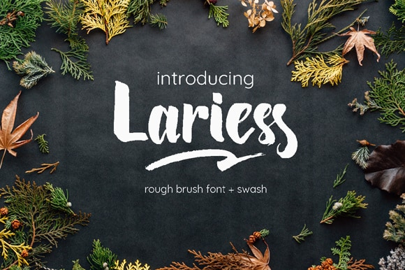 Download Lariess font (typeface)