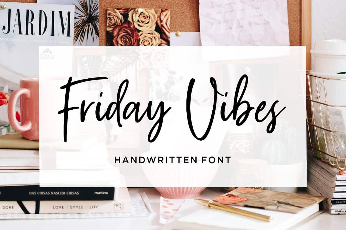 Download Friday Vibes font (typeface)