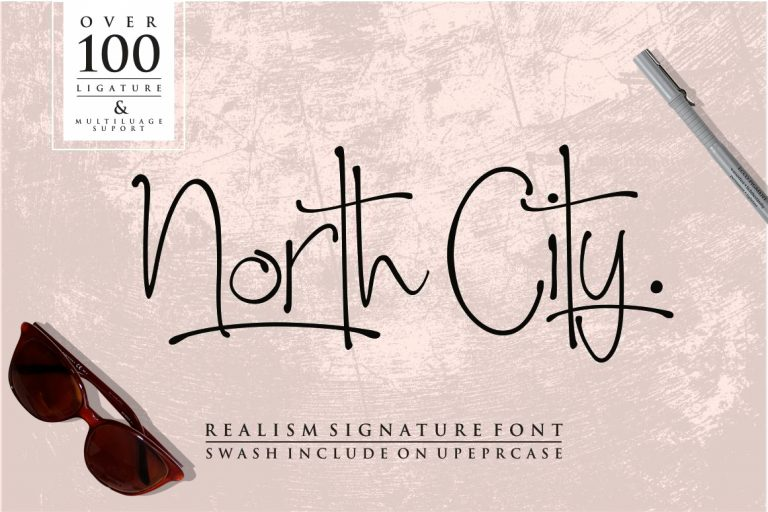 Download North City font (typeface)