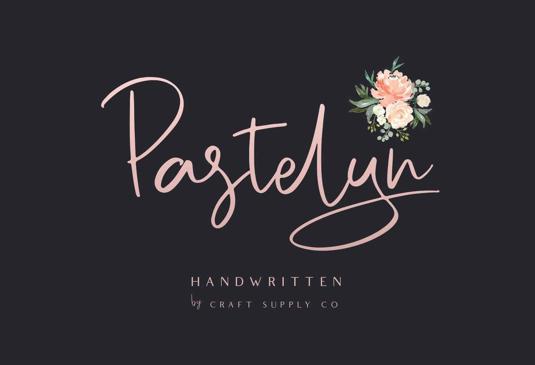 Download Pastelyn font (typeface)