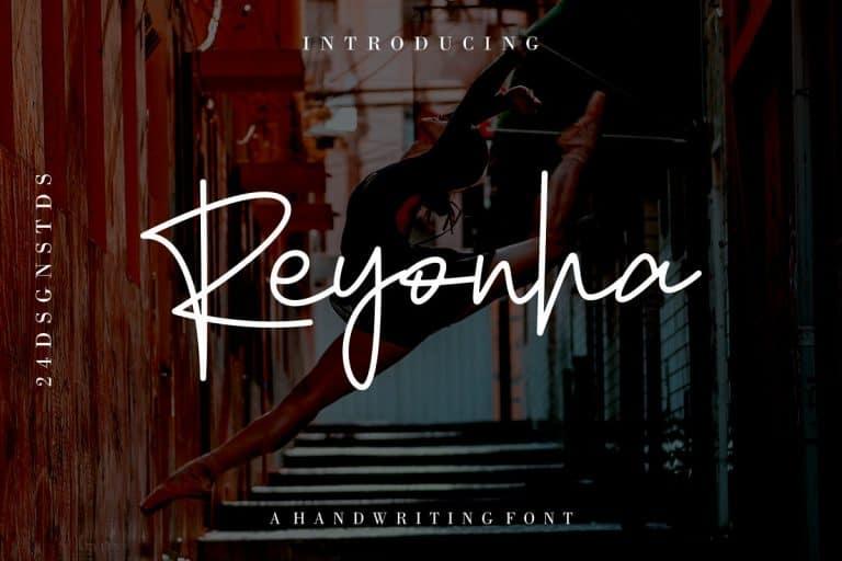 Download Reyonha font (typeface)