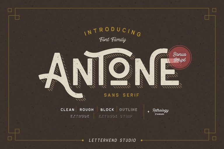 Download Antone font (typeface)