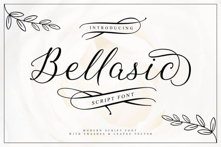 Download Bellasic font (typeface)