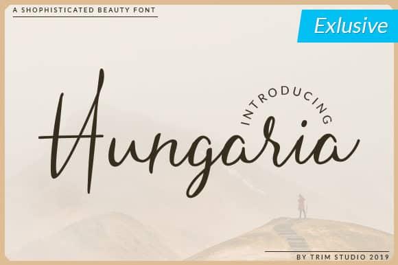 Download Hungaria font (typeface)