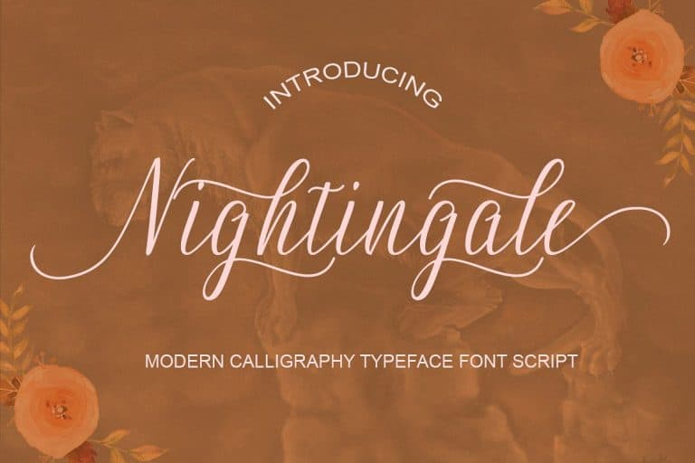 Download Nightingale font (typeface)