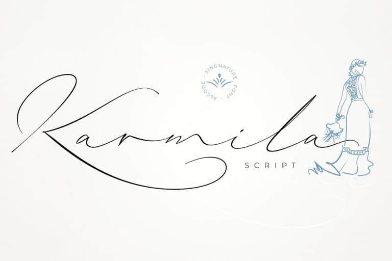 Download Karmila font (typeface)