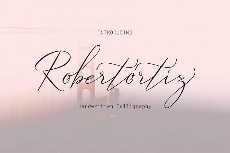 Download Robertortiz font (typeface)