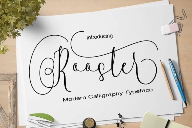 Download Rooster font (typeface)