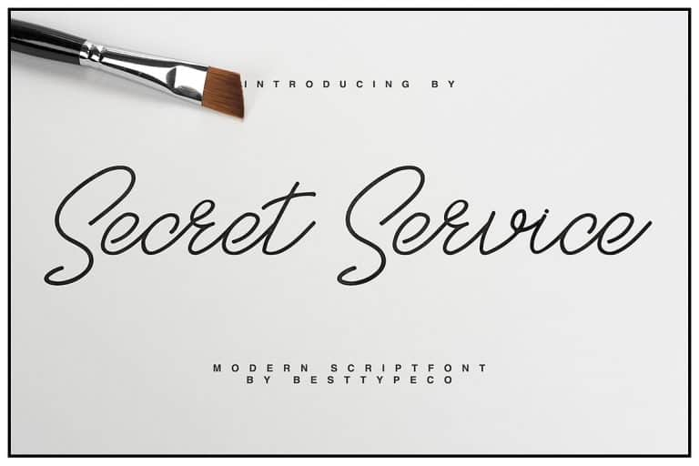 Download SecretService font (typeface)
