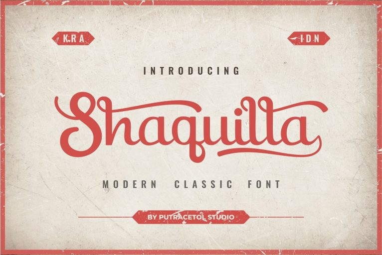 Download Shaquilla font (typeface)