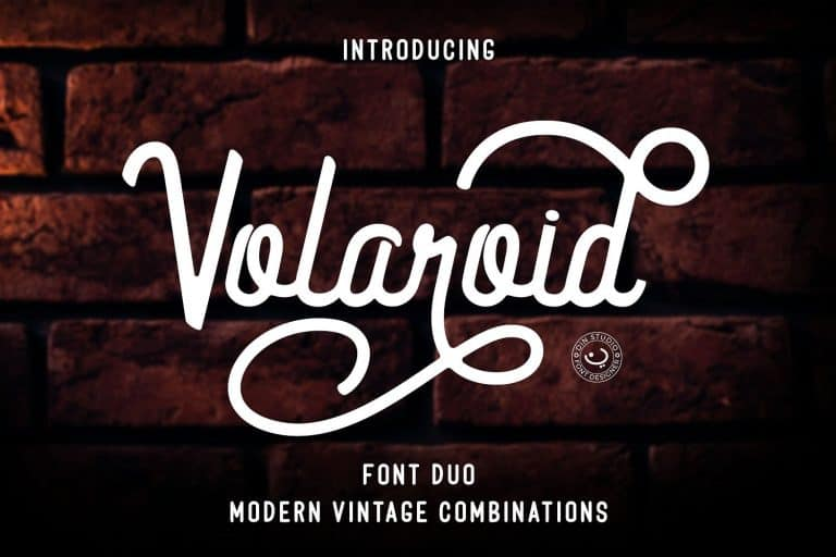 Download Volaroid font (typeface)