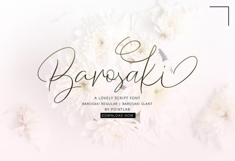 Download Barosaki font (typeface)