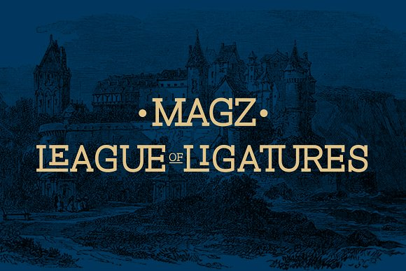 Download Magz font (typeface)