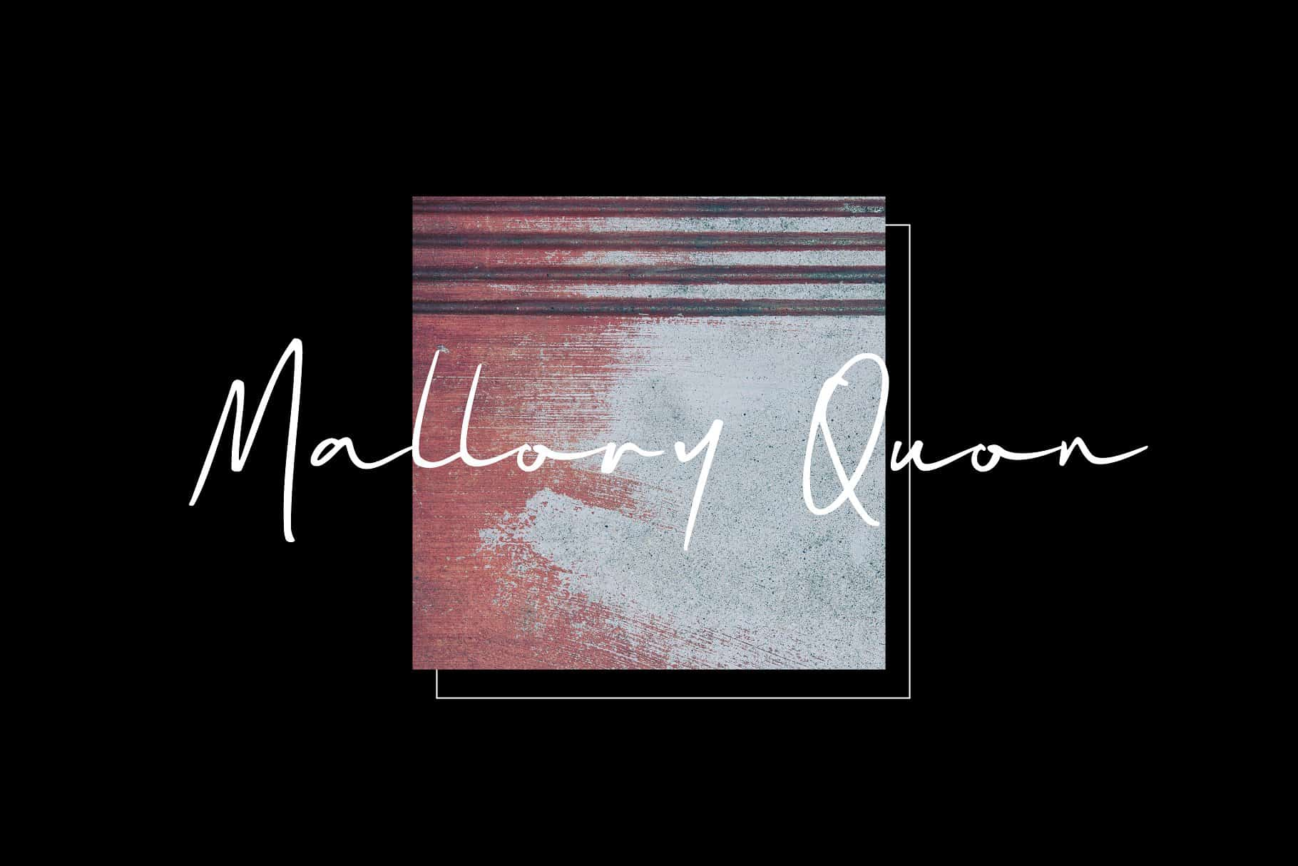 Download Mallory Quon font (typeface)