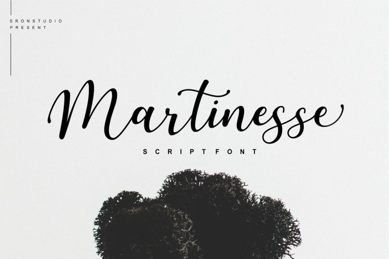 Download Martinesse font (typeface)