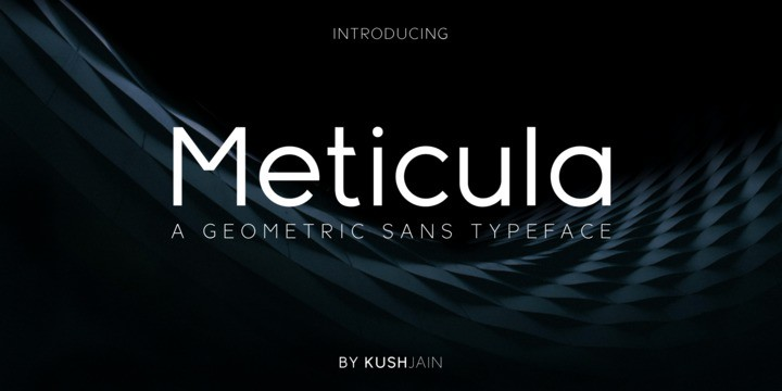 Download Meticula font (typeface)