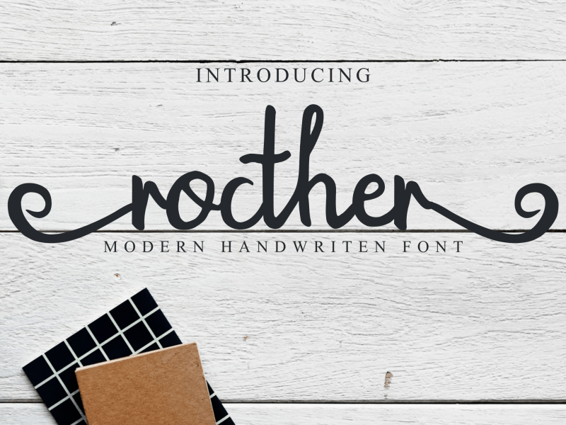 Download Rocther font (typeface)
