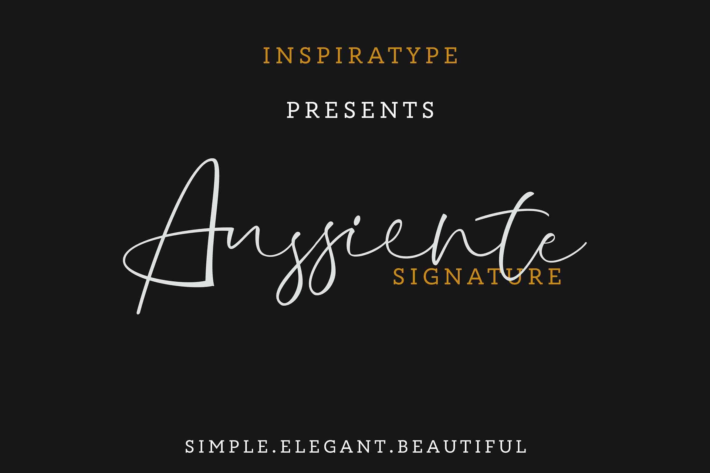 Download Aussiente font (typeface)