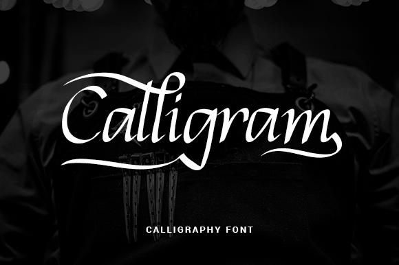 Download Calligram font (typeface)