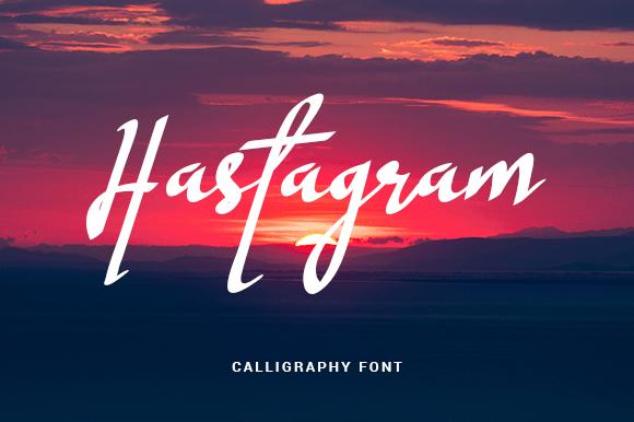 Download Hastagram font (typeface)