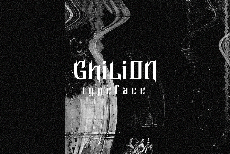 Download Ghilion font (typeface)