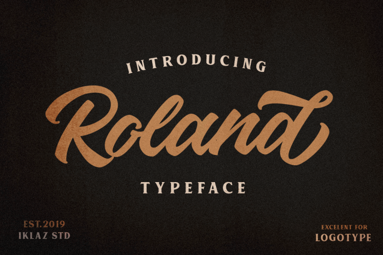 Download Roland font (typeface)