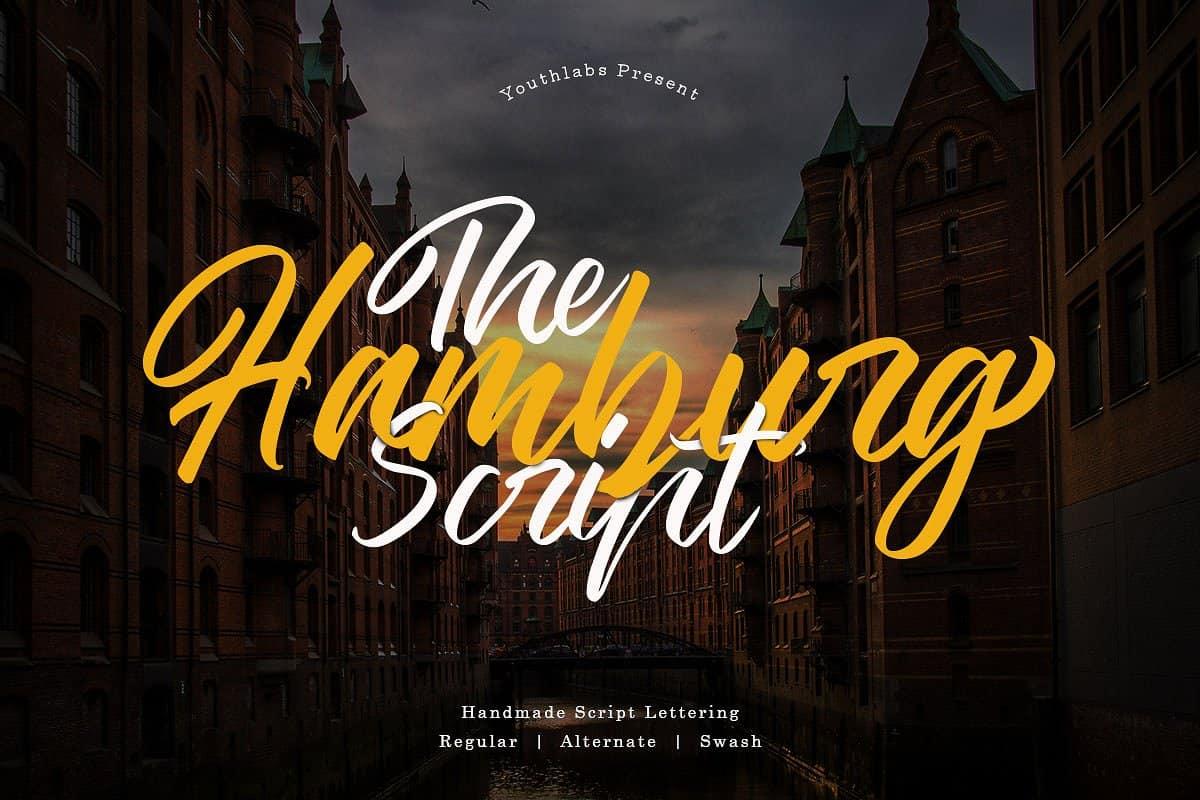 Download The Hamburg font (typeface)