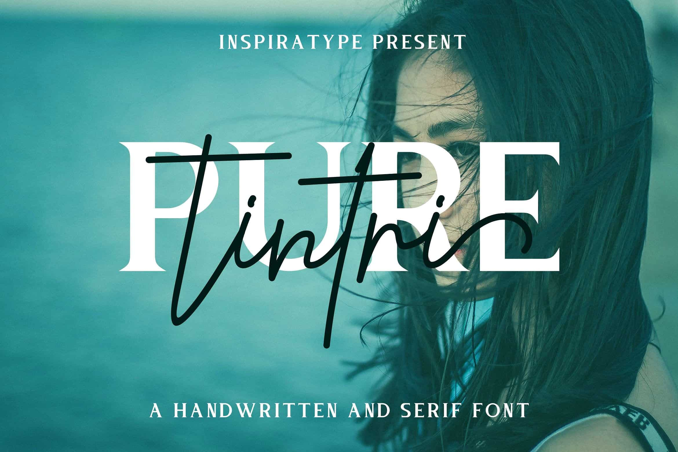 Download Tintri Pure font (typeface)