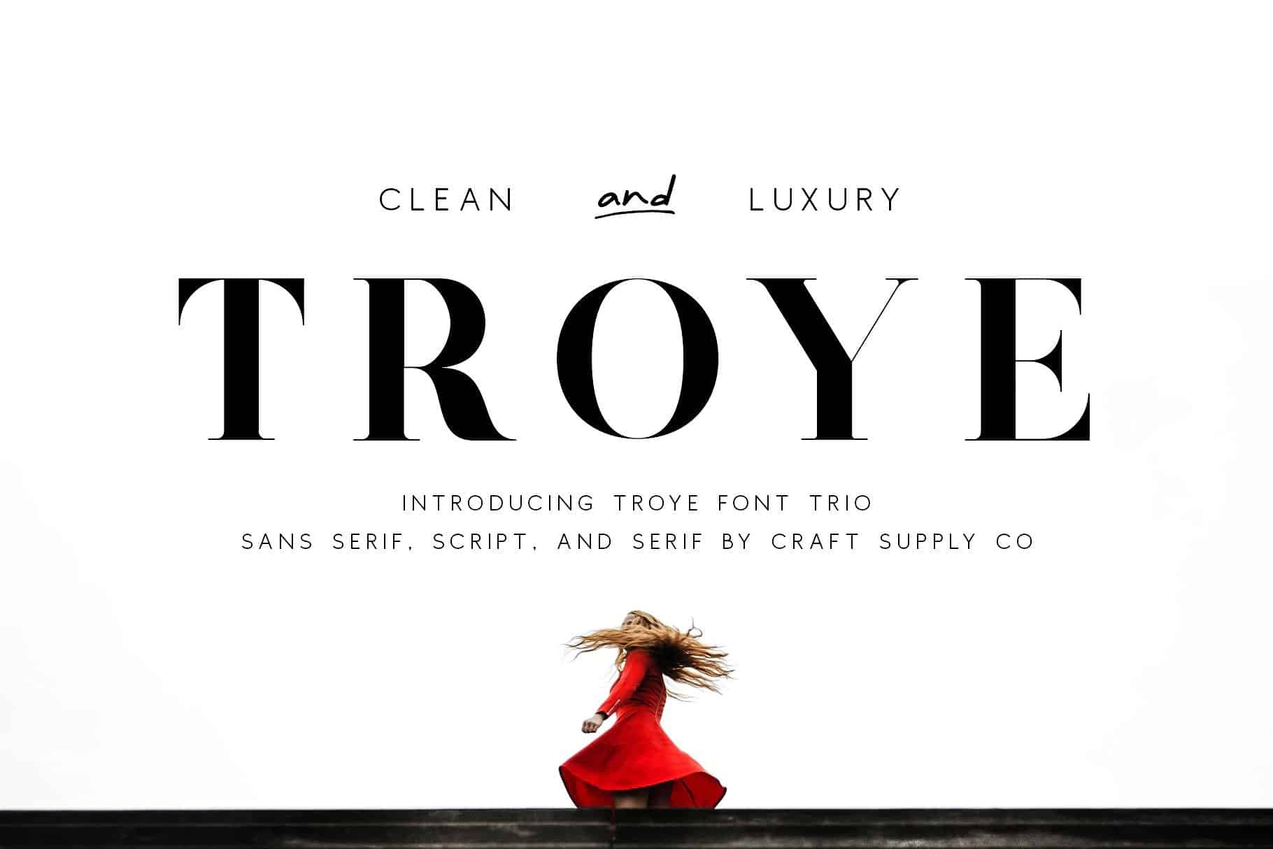 Download Troye font (typeface)