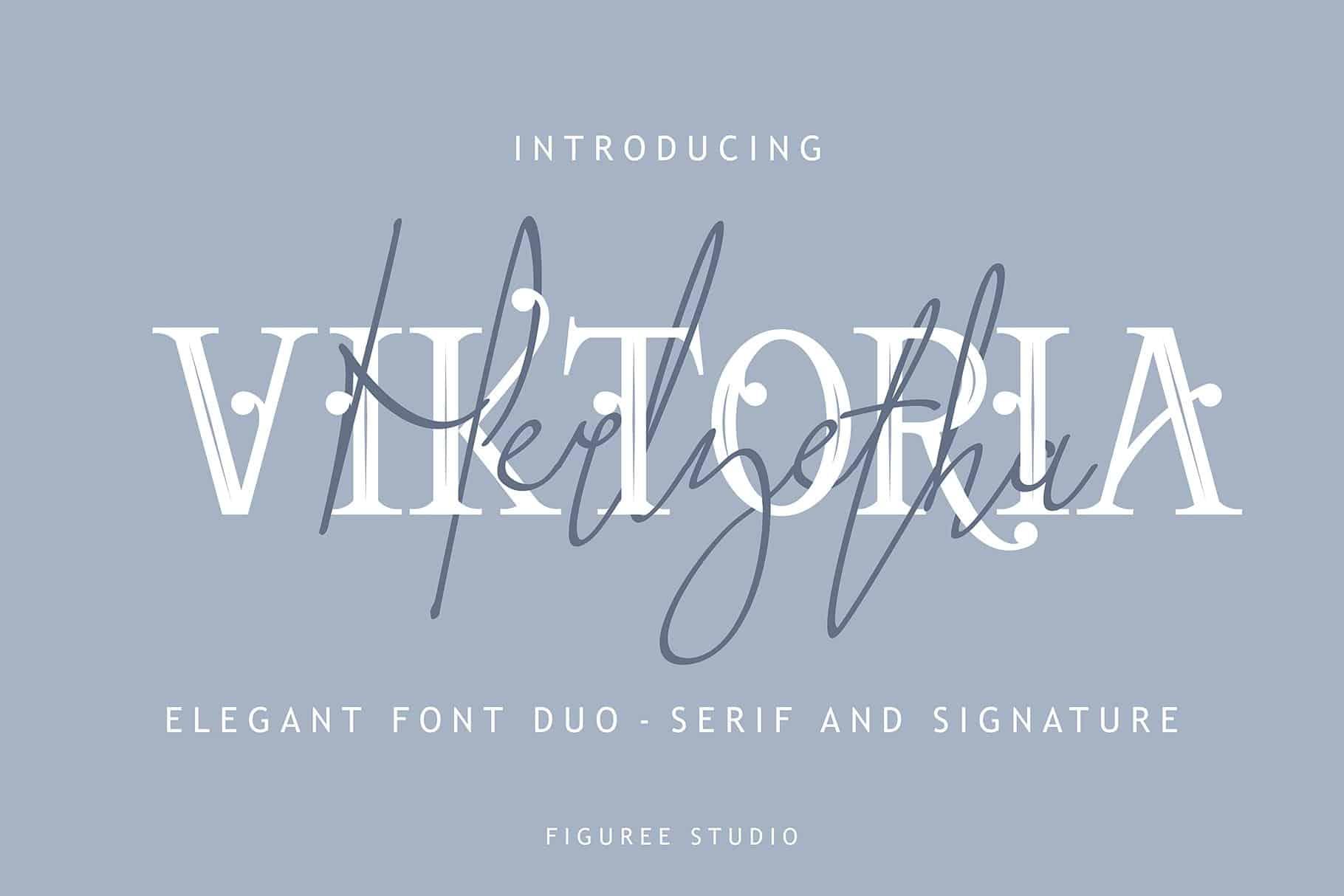 Download Viktoria font (typeface)