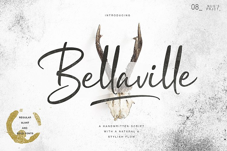 Download Bellaville font (typeface)