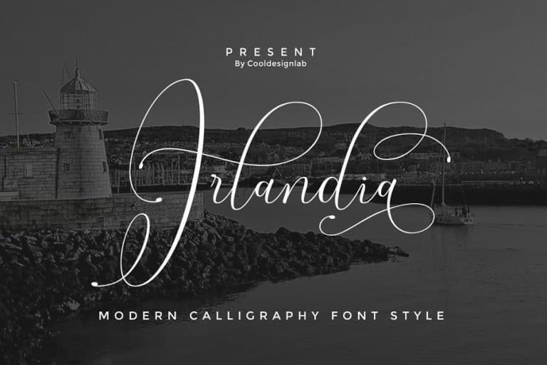 Download Irlandia font (typeface)
