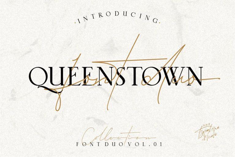 Download Queenstown font (typeface)