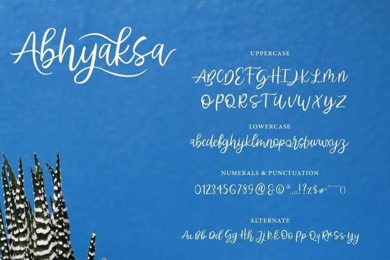 Download Abhyaksa font (typeface)
