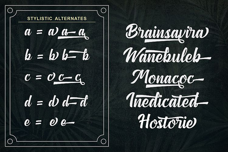 Download Anthemie font (typeface)