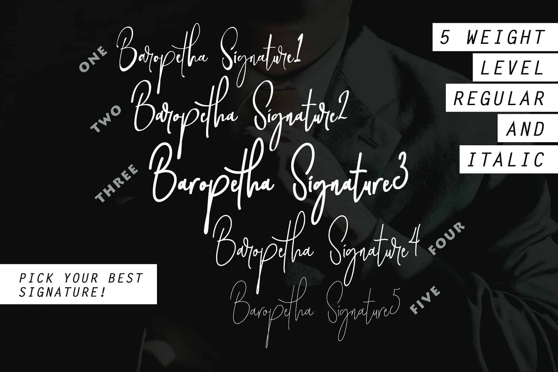 Download Baropetha font (typeface)