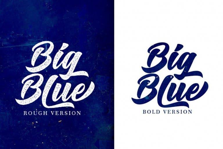 Download Big Blue font (typeface)
