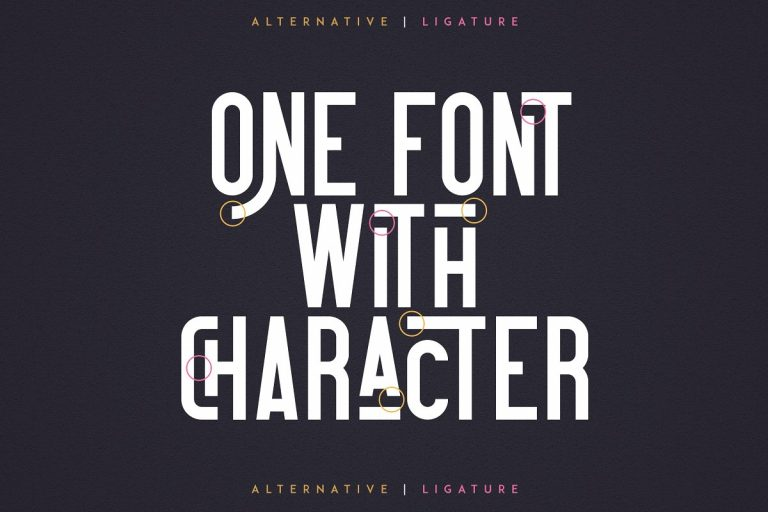 Download Contraband font (typeface)
